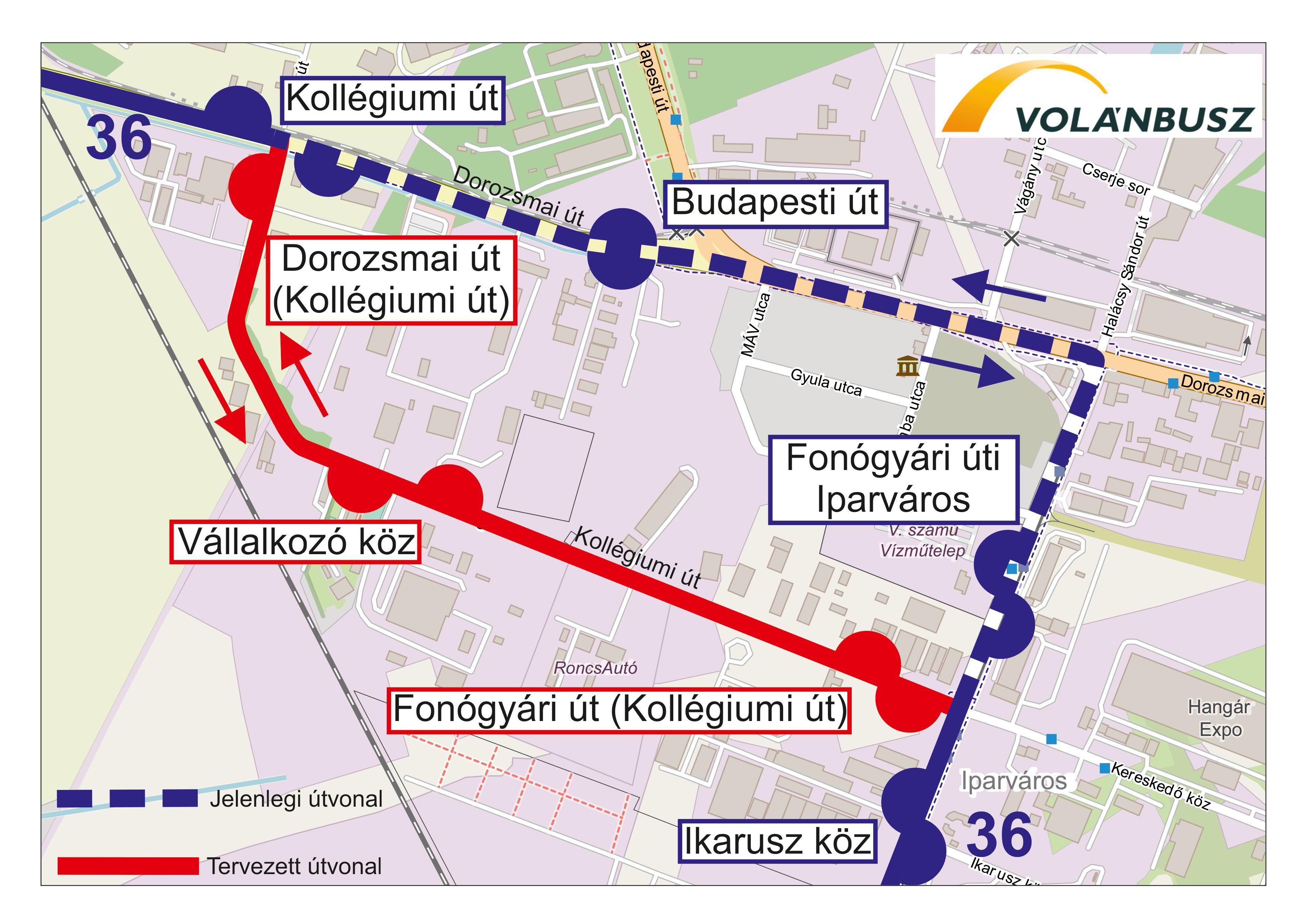 Szeged – február 1-jétől változások a helyi közlekedésben